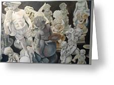 Stone Angels Greeting Card