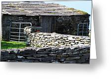 Stone Barn Doolin Ireland Greeting Card