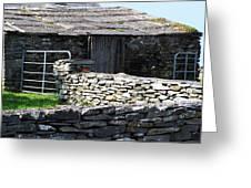 Stone Barn Doolin Ireland Greeting Card