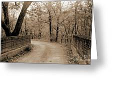 Stone Bridge On Cave Hill Road Greeting Card