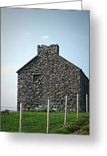 Stone Building Maam Ireland Greeting Card