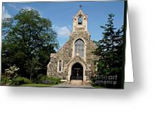 Stone Chapel Greeting Card