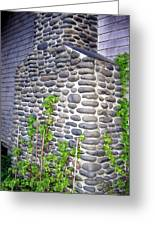 Stone Chimney Greeting Card