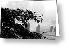 Stone Cold Fog Greeting Card