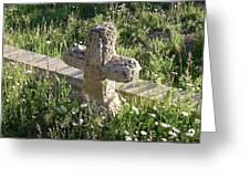 Stone Cross Greeting Card