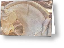 Stone Curve Greeting Card by Dressage Design
