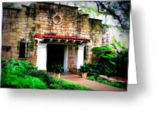 Stone Entry Greeting Card