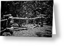 Stone Fence B Greeting Card