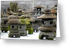 Stone Figures Greeting Card