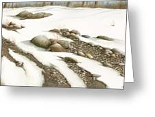 Stone Flow Greeting Card