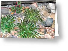 Stone Garden Greeting Card
