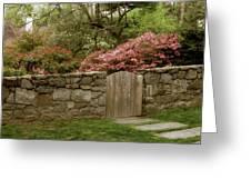 Stone Gate Greeting Card