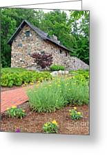 Stone House Fishers Indiana Greeting Card