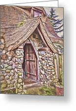 Stone House In Skagit County Greeting Card