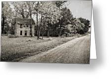 Stone House Road Greeting Card