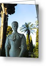 Stone Lady Of Rio Greeting Card