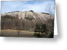 Stone Mountain Early Spring Greeting Card