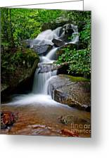 Stone Mountain Falls Greeting Card