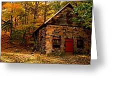 Stone Shed Greeting Card