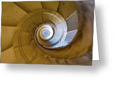 Stone Spiral Greeting Card
