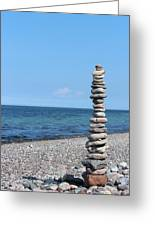 Stone Towers Greeting Card