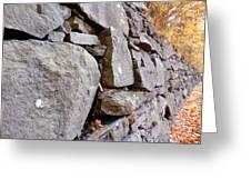 Stone Wall 2 Greeting Card