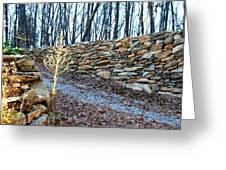 Stone Wall Ga Mountain 1 Greeting Card