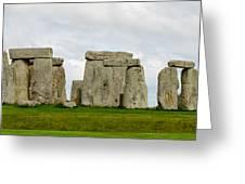 Stonehenge Monument Greeting Card