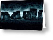 Stonehenge Mood Greeting Card
