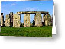Stonehenge No 2 Greeting Card