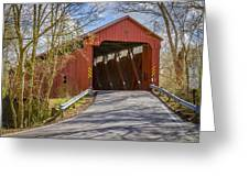 Stonelick Covered Bridge Greeting Card