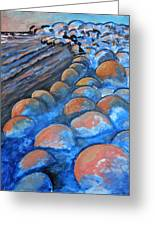 Stones By The Sea Greeting Card