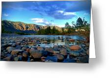 Stones By The Similkameen Greeting Card