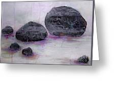 Stones 2 Greeting Card