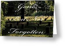 Stones River Battlefield  Greeting Card