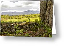Stonewall And Cannon Mountain Greeting Card