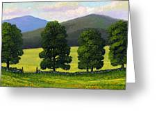 Stonewall Field Greeting Card
