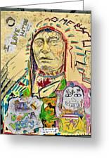 Stoney Chief  Greeting Card