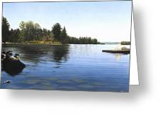 Stoney Lake Greeting Card
