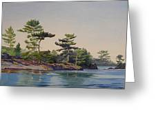 Stoney Lake Morning Greeting Card