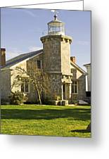Stonington Lighthouse Greeting Card