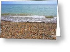 Stony Beach Greeting Card