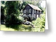 Stony Brook Gristmill And Museum Greeting Card