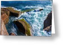 Stony Shore In Costa Adeje Greeting Card
