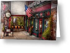 Store - Flemington Nj - Historic Flemington  Greeting Card