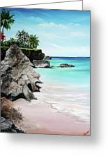 Store Bay Tobago Greeting Card