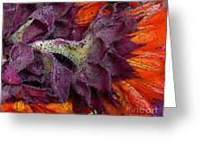 Store Flower Greeting Card