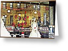 Store Front Wedding Greeting Card