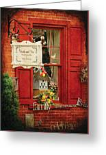 Store - Strausburg Pa - Thistle And Vine Greeting Card