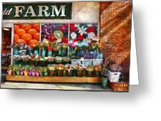 Store - Westfield Nj - The Flower Stand Greeting Card